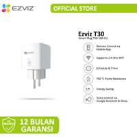 Ezviz T30 Smart Plug Remote Control Works With Voice Assistants Resmi