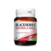 Blackmores Natural E 250 IU 50 Caps Kalbe original Blackmore vitamin E