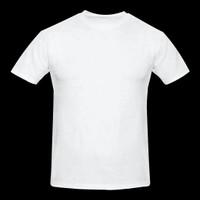 Baju Kaos Oblong Polos Anak - Putih, 2-3 tahun