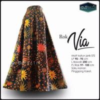 Rok Panjang Warna Fashion Batik Pekalongan - Warna 7