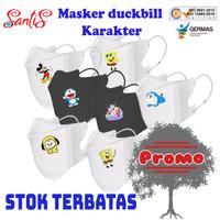 Masker Duckbill Motif / Duckbill Motif Kartun / Duckbill Premium