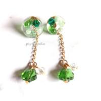 Anting Handmade - Kallistê (Green)