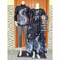 baju couple pasangan batik sarimbit