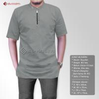 Pakaian Muslim Pria - Baju Koko Pria - Tangan pendek - 1