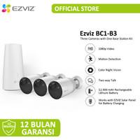 EZVIZ SMART HOME BATT CAM KIT/CS-BC1-B3