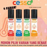 Cessa Cough and Flue Baby anak 0-2 tahun Pereda Batuk Pilek Bayi Oil