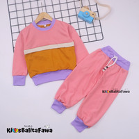 Setelan Nana 1-6 Thn / Set Anak Murah Celana Baju Sweater & Jogger