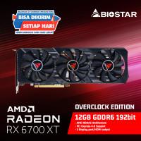 BIOSTAR AMD RX 6700 XT OC AMD RADEON RX6700XT OC 12GB GDDR6 192 BIT