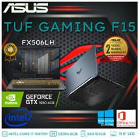 LAPTOP ASUS TUF GAMING FX506LH I7 10870/8GB/512GB/GTX1650/15.6/W10+OHS