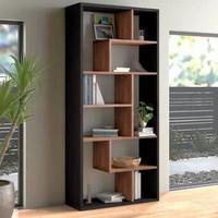 rak minimalis modern / rak buku / rak pajangan / penyekat ruangan