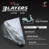 Cover Motor Vespa Primavera 3 Layers Waterproof Outdoor Indoor