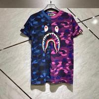 Bape shark 2 tone camo t-shirt Original unisex - S