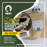 Nakopi Dripbag Kopi Houseblend Sweet Winey