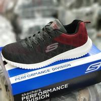 Sepatu Skechers Pria / Skechers Flex Knit / Skechers pria Running