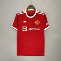 Baju Jersey Bola Manchester United MU Home 2021 2022 Grade Ori Ronaldo