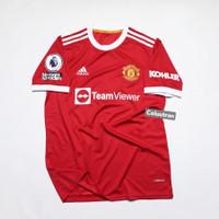 Baju Jersey Bola Manchester United MU Home Patch 2021 2022 GO Ronaldo