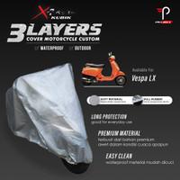 Cover Motor Vespa LX 3 Layers Waterproof Outdoor Indoor