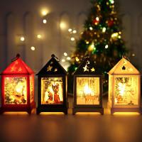 Lentera Kotak Lampu LED Natal Souvenir Christmas Gift Kado Natal Murah