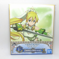 Ichiban Kuji Shikishi Sword Art Online War of Underworld Goddess Leafa