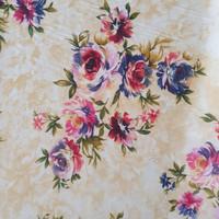kain chiffon/sifon motif bunga besar lebar 1.15 meter