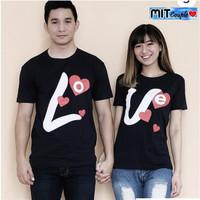 Kaos Couple / Baju Couple / Baju Couple Lengan Pendek Murah 062