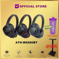 Audio-Technica ATH-WS660BT Bluetooth Headset WS660 BT WS 660 BT