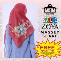 Kerudung Hijab Jilbab Segi Empat Motif Zoya Massey Scarf Segiempat 4