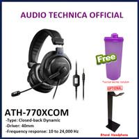 Audio Technica ATH-770XCOM Stereo Headset Headphone 770X COM
