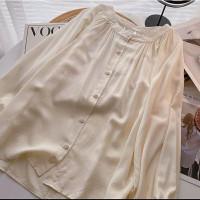 Baju Blouse Wanita Viola Blouse Wanita Lengan Panjang Style Vintage