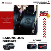 SARUNG JOK MOBIL FORTUNER OTOMOTIFKU BERKUALITAS Myo Leather - BARIS 1