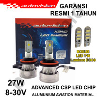 LAMPU LED H11 AUTOVISION XAND Headlamp 6500K White Lampu Utama
