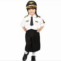 baju kostum pilot anak perempuan baju profesi anak baju karnaval anak