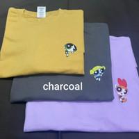 SEASON 2 KAOS POWERPUFF GIRLS CHARACTER REGULAR FIT - Charcoal, S