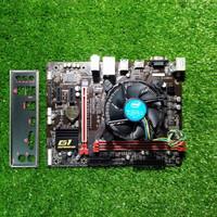 Paket Motherboard Gigabyte H110M GAMING 3 + i5 6400 2.7Ghz + Fans ori