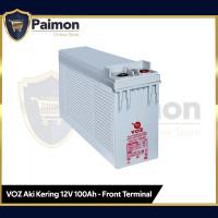 Voz 12V 100 Ah Front Terminal VRLA AGM   Aki Kering VRLA 12V 100 Ah