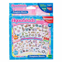 Aquabeads Mainan Edukasi Aquabeads Template Sheets