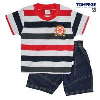 Tompege Setelan Oblong Baju Anak Laki Cowok TP-6005