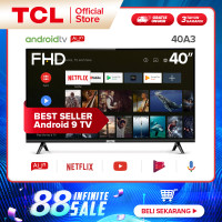 TCL Google Certified Android TV 40 inch- Smart Full HD LED TV - 40A3