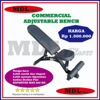bangku fitness adjustable baru