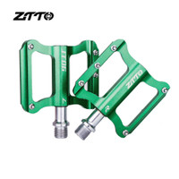 ZTTO JT06 Bicycle Pedal Aluminum Alloy Sepeda Lipat MTB Road - GREEN
