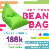 Promo Bean Bag Triangle plus Isian