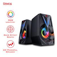 Speaker GAMEN GS1 Laptop/PC/Gaming Soundbar Super Bass Portable RGB