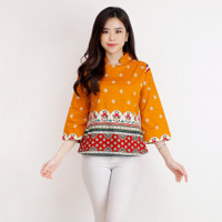Baju Batik Wanita/Atasan Batik Wanita A559 VQ
