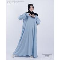 Gamis Abaya Syari Humaira Wolfis Premium Alsyahra Exclusive