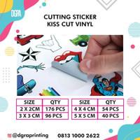 Cetak Sticker Label Vinyl (Sudah di Cutting)