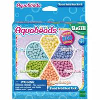 Aquabeads Mainan Edukasi Aquabeads Pastel Solid Bead Pack
