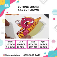 Cetak Sticker Label Cromo (Sudah di Cutting)