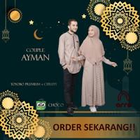 Baju Couple Keluarga Pasangan Muslim AYMAN SERIES Sarimbit PREMIUM