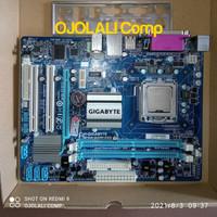 Mainboard Motherboard Mobo G41 DDR2 GIGABYTE GA-G41M-ES2L, bukan G31