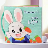 Tumama Quiet Cloth Book (300 Gram) Mainan bayi - Daily Life